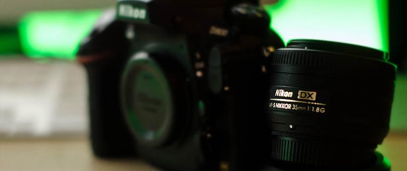 35mm 1.8 DX auf einem FX Body